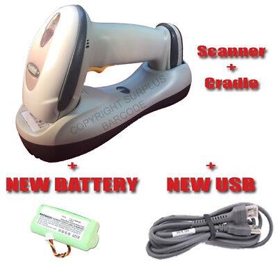 Motorola Symbol LS4278 & Cradle Wireless Barcode Scanner BlueTooth + NEW BATTERY