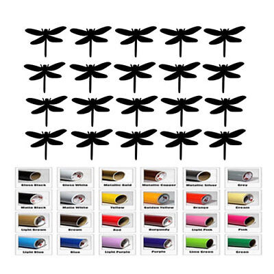 20 Dragonfly Stickers for Wedding Decal Fairy Theme Party Favor wall room - Themes For Weddings
