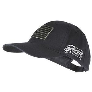 Voodoo Tactical Cap OSFA Hat Embroidered US Flag Black 935301000 ff9c5def928