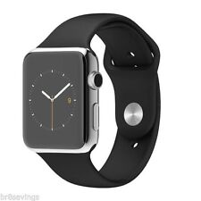 Apple WATCH 38mm  Stainless Steel Case Black Sport Band (MJ2Y2LL/A) 4-6 Weeks