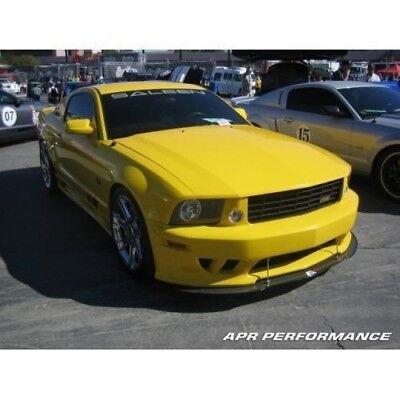 BDTrimsMatte Black Letters for Ford Mustang SALEEN 2005-2009 Plastic Inserts