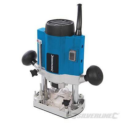"""SALE!!! DIY 1020W Plunge Router 1/4"""" Variable Speed Control 40mm Plunge Depth"""
