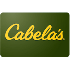 Cabelas Gift Card $25 Value, Only $22.50! Free Shipping!