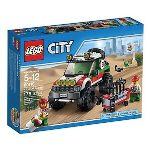 LEGO City 60115 4 x 4 Off Roader - New in box