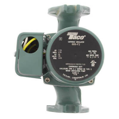 Brand New Taco 005-f2 Cast Iron Cartridge Circulator Pump 135 Hp