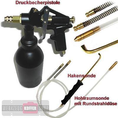 Vaupel Druckbecherpistole 3300 HSDR Set - für Oldtimer Hohlraumversiegelung