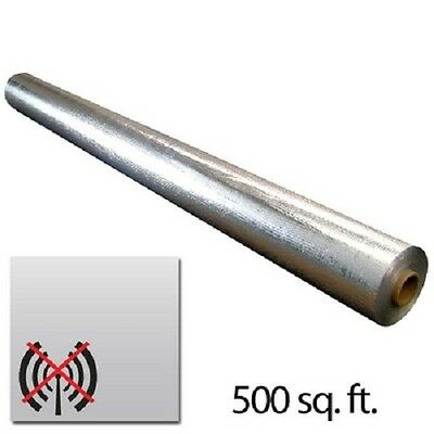 500sqft 4x125 Scif Radiant Solid Vapor Barrier Emf Radio Rfid Blocker 4x125ft