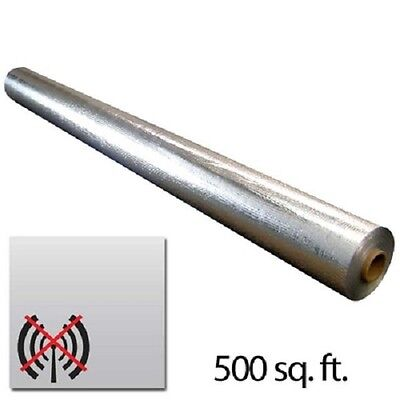 500sqft Scif Radiant Solid Vapor Barrier Emf Radio Rfid Blocker 4x125ft