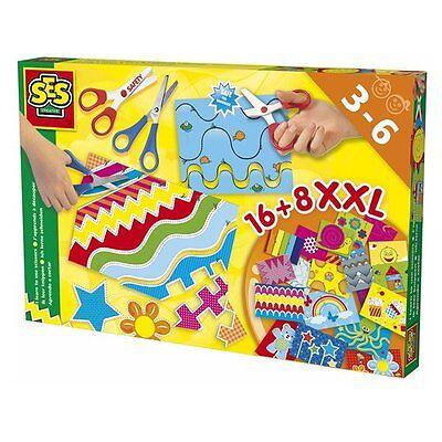 "SES Big Box ""Ich lerne schneiden"" NEU mehrfarbig"