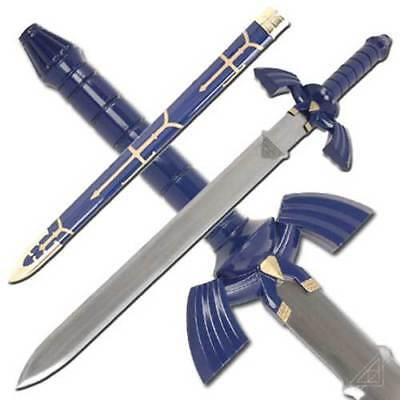 Zelda Replica Twilight Princess Master Sword DELUXE Link Hylian Stainless Steel