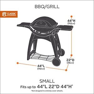 Clic Accessories Hickory Small Bbq Grill Cover