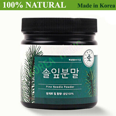 100% Natural Pine Needle Powder 180g Medicinal Korean Herbal Powder NEW