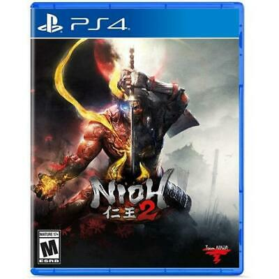 Nioh 2 Standard Edition PS4 - PlayStation 4 - ESRB Rated M (Mature 17+)