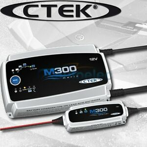 CTEK-M300-25-AMP-MARINE-BATTERY-CHARGER-PACK-DEEP-CYCLE-12V-12-VOLT-BOAT