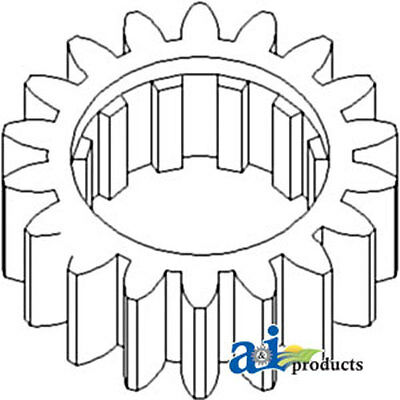 70246545v Tractor Reverse Countershaft Gear For Allis Chalmers 180 185 190 200