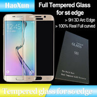 GALAXY s6 EDGE and s6 EDGE PLUS  FULL BODY Tempered Glass Screen