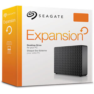 6 TB Seagate Expansion USB 3.0 Desktop External Hard Drive - NEW