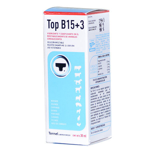 Tornel -Top B15 +3 -30ml (Exp 01/2022)