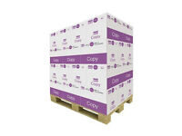 great value pallet of 40 boxes A4 80gsm paper perfect for everyday office use