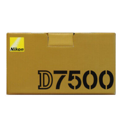 Nikon D7500 20.9MP Digital SLR Camera - Black (Body Only)