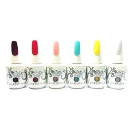 Harmony Gelish Beauty & the beast collection including patina top coat 7 Gels all brand new