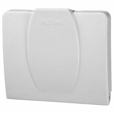 NuTone Central Vacuum 360 Series Automatic On/Off Wall/Floor Inlet, White (360W)