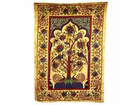 Tree of Life decorative bed spread or wall hanging