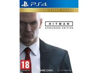 Hitman steel book edition PS4 - PlayStation 4