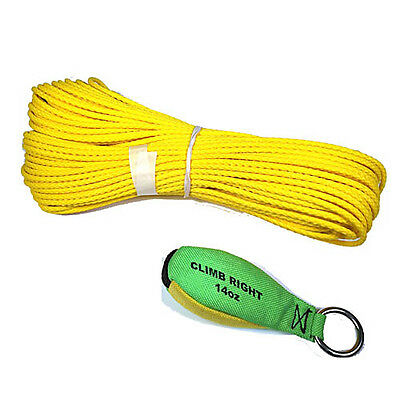 Climb Right Throw Weight Line Kit 14oz Weight 150 Rope 36002 Spyder Arborist