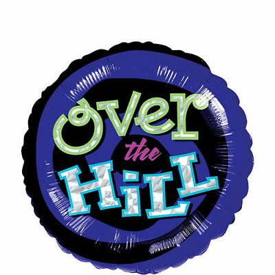 Over The Hill Balloons (Over the Hill Birthday Foil Balloon 17 in Anagram)