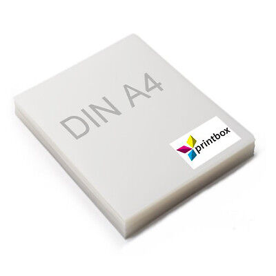 50 Blatt DIN A4 Digitaler Siebdruckfilm | Inkjetfilm | Polyesterfilm