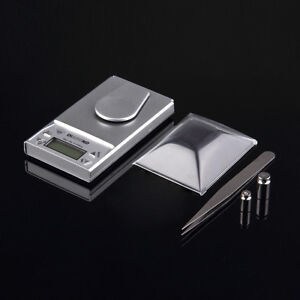 10g*0.001g LCD Digital Electronic Pocket Gram Jewelry Weight Balance Scale SN