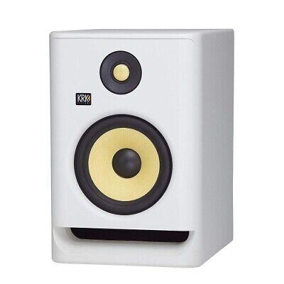"""KRK ROKIT RP7 G4 7"""" Bi-Amped Studio Monitor DSP Speaker Whit"""