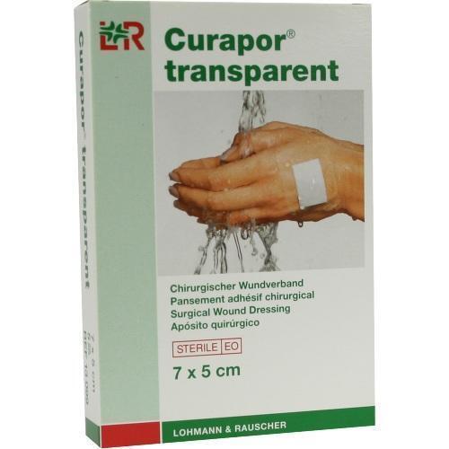 CURAPOR Wundverband steril transparent 5x7 cm 5 St