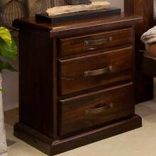 RUSTIC BEDSIDE TABLE Villawood Bankstown Area Preview