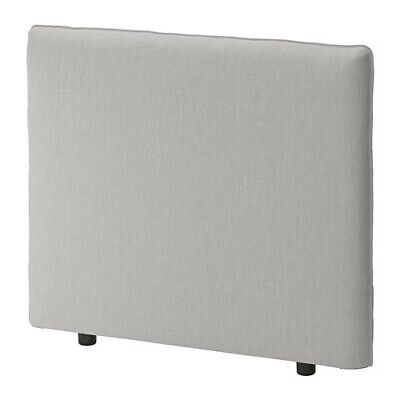 Ikea Vallentuna Cover for 100x80cm Back Rest - Ramna Light Grey 003.297.28