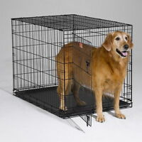 GIANT FOLDING DOG KENNEL