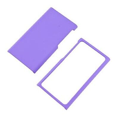 Purple Case For Apple iPod Nano 7 Hard Rubberized Snap On Phone Cover Nano 4 Snap