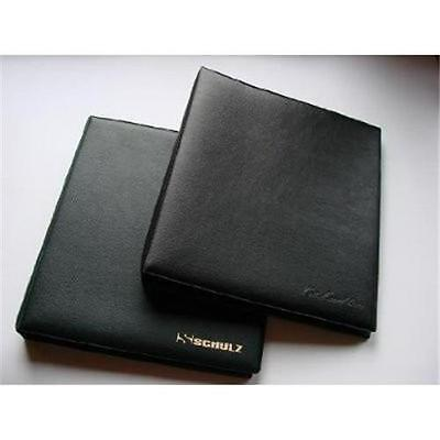 COIN ALBUM FOR 30 COINS OR MEDALS 4 RING SYSTEM-5 page with Pocket Size 65x75mm