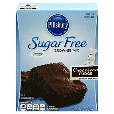 Pillsbury Sugar Free Fudge Brownie Mix chocolate 12.35 Ounce