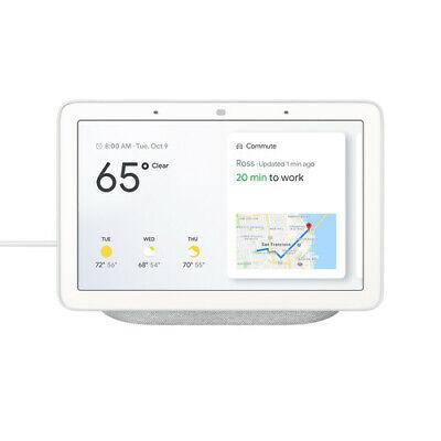Google Home Hub - Controller di Casa Intelligente (Versione USA) - Gesso