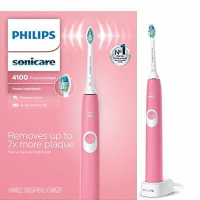 Philips Sonicare ProtectiveClean 4100 Sonic elektrische Zahnbürste HX6815 / 01 Pink