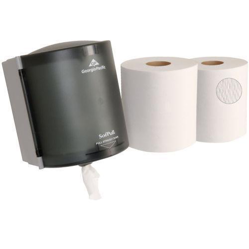 White Plastic Toilet Paper Holder