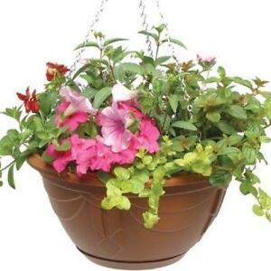 Hanging basket flowers ebay plastic flower hanging baskets mightylinksfo