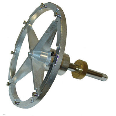 Grater Attachment - Hobart Compatible Attachment - Hub and Shaft for Shredder/Grater Plate