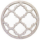 Wooden Round Decorative Mirrors