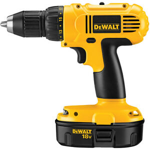 NEW Dewalt 2 speed drill, battery, charger and bag