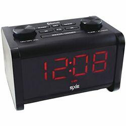 Westclox SXE86011 Sxe Sxe86011 Bluetooth[r] Speaker Fm Alarm Clock Radio