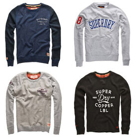 Superdry men's sweatshirts