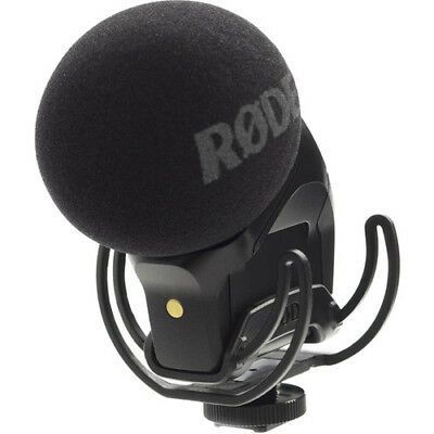 RODE STEREO VIDEOMIC PRO Rycote Mount ON-CAMERA MIC Video - RODE SVM SVMP-R